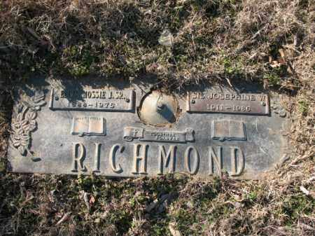"RICHMOND, JOSEPHINE W ""SIS"" - Cross County, Arkansas 