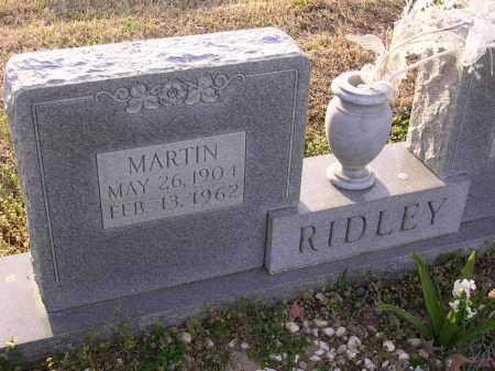 RIDLEY, MARTIN - Cross County, Arkansas | MARTIN RIDLEY - Arkansas Gravestone Photos