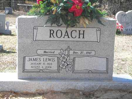 ROACH, JAMES LEWIS - Cross County, Arkansas | JAMES LEWIS ROACH - Arkansas Gravestone Photos