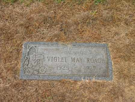 ROACH, VIOLET MAY - Cross County, Arkansas | VIOLET MAY ROACH - Arkansas Gravestone Photos