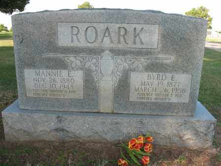 ROARK, BYRD E - Cross County, Arkansas | BYRD E ROARK - Arkansas Gravestone Photos