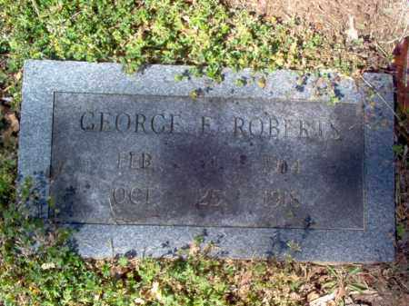ROBERTS, GEORGE EUGENE - Cross County, Arkansas | GEORGE EUGENE ROBERTS - Arkansas Gravestone Photos