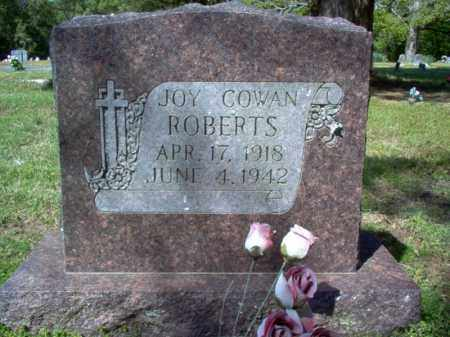 COWAN ROBERTS, JOY - Cross County, Arkansas | JOY COWAN ROBERTS - Arkansas Gravestone Photos