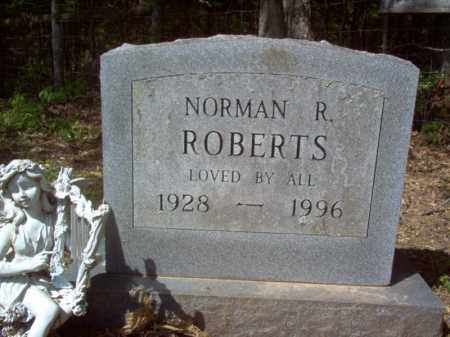 ROBERTS, NORMAN R - Cross County, Arkansas | NORMAN R ROBERTS - Arkansas Gravestone Photos