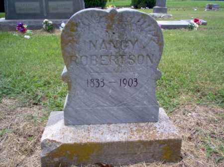 ROBERTSON, NANCY - Cross County, Arkansas | NANCY ROBERTSON - Arkansas Gravestone Photos