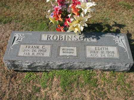 ROBINSON, EDITH - Cross County, Arkansas | EDITH ROBINSON - Arkansas Gravestone Photos