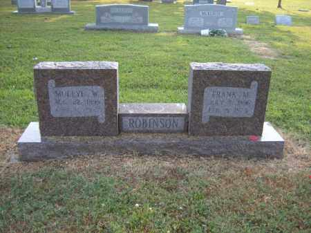 ROBINSON, MOLLYE W - Cross County, Arkansas | MOLLYE W ROBINSON - Arkansas Gravestone Photos
