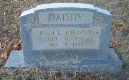 ROBINSON, JR, HUGH L - Cross County, Arkansas | HUGH L ROBINSON, JR - Arkansas Gravestone Photos