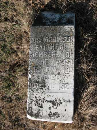 ROBINSON, ROSE - Cross County, Arkansas | ROSE ROBINSON - Arkansas Gravestone Photos
