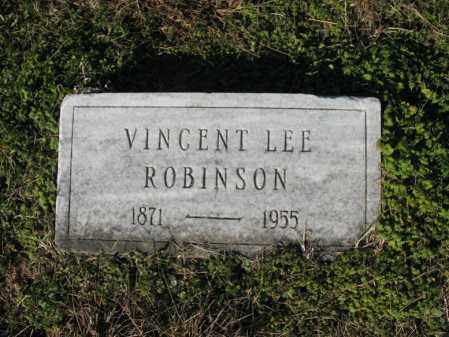 ROBINSON, VINCENT LEE - Cross County, Arkansas | VINCENT LEE ROBINSON - Arkansas Gravestone Photos