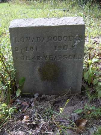 RODGERS, LOVADA - Cross County, Arkansas | LOVADA RODGERS - Arkansas Gravestone Photos