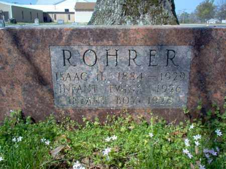 ROHRER, INFANT TWINS - Cross County, Arkansas | INFANT TWINS ROHRER - Arkansas Gravestone Photos