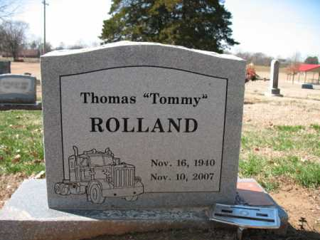 "ROLLAND, THOMAS ""TOMMY"" - Cross County, Arkansas 