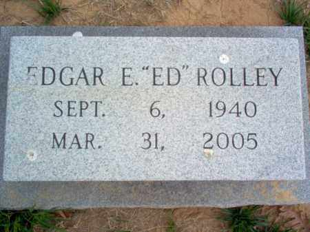 "ROLLEY, EDGAR E ""ED"" - Cross County, Arkansas 