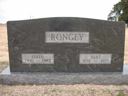 RONGEY, EDITH - Cross County, Arkansas | EDITH RONGEY - Arkansas Gravestone Photos