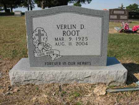ROOT, VERLIN D - Cross County, Arkansas | VERLIN D ROOT - Arkansas Gravestone Photos