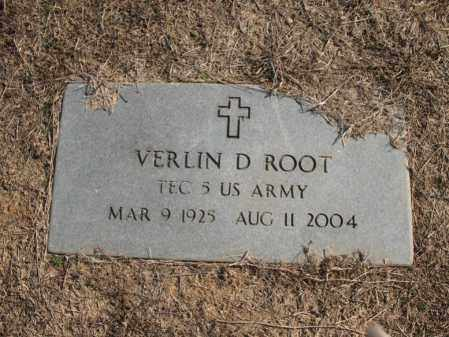 ROOT (VETERAN), VERLIN D - Cross County, Arkansas | VERLIN D ROOT (VETERAN) - Arkansas Gravestone Photos