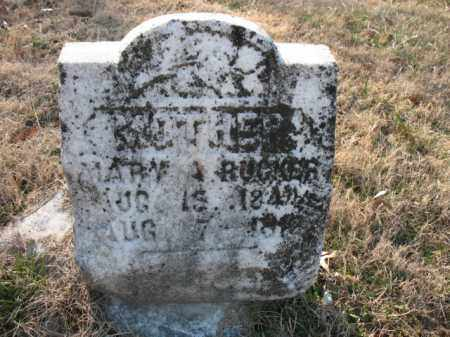 RUCKER, MARY A - Cross County, Arkansas | MARY A RUCKER - Arkansas Gravestone Photos