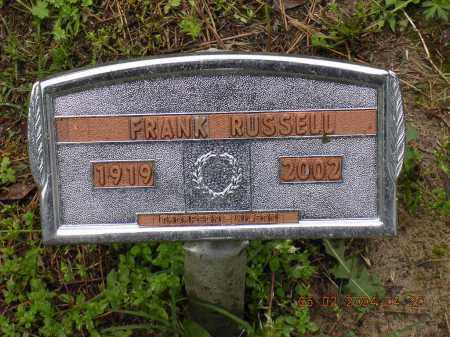 RUSSELL, FRANK - Cross County, Arkansas | FRANK RUSSELL - Arkansas Gravestone Photos