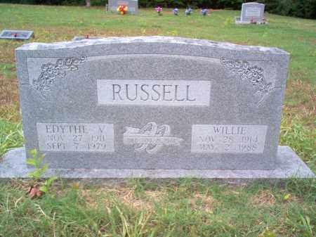 RUSSELL, EDYTHE V - Cross County, Arkansas | EDYTHE V RUSSELL - Arkansas Gravestone Photos