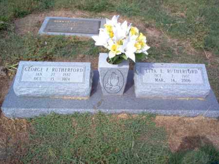 RUTHERFORD, ETTA - Cross County, Arkansas | ETTA RUTHERFORD - Arkansas Gravestone Photos