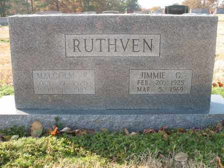 RUTHVEN, JIMMIE G - Cross County, Arkansas | JIMMIE G RUTHVEN - Arkansas Gravestone Photos