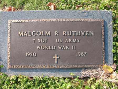 RUTHVEN (VETERAN WWII), MALCOM R - Cross County, Arkansas | MALCOM R RUTHVEN (VETERAN WWII) - Arkansas Gravestone Photos