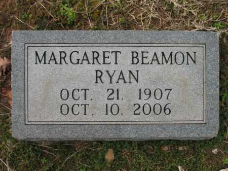 BEAMON RYAN, MARGARET - Cross County, Arkansas | MARGARET BEAMON RYAN - Arkansas Gravestone Photos