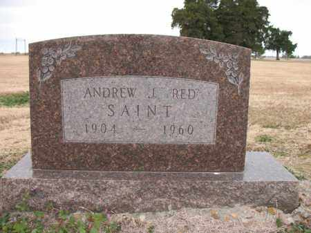 "SAINT, ANDREW J ""RED"" - Cross County, Arkansas 