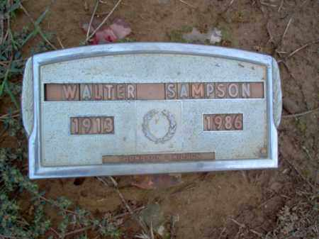 SAMPSON, WALTER - Cross County, Arkansas | WALTER SAMPSON - Arkansas Gravestone Photos