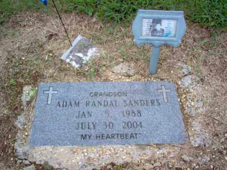 SANDERS, ADAM RANDAL - Cross County, Arkansas | ADAM RANDAL SANDERS - Arkansas Gravestone Photos