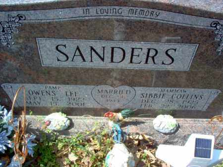 SANDERS, OWENS LEE - Cross County, Arkansas | OWENS LEE SANDERS - Arkansas Gravestone Photos