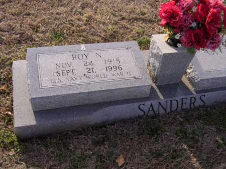 SANDERS (VETERAN WWII), ROY N - Cross County, Arkansas | ROY N SANDERS (VETERAN WWII) - Arkansas Gravestone Photos