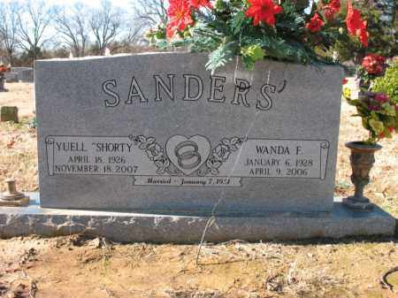 SANDERS, WANDA F - Cross County, Arkansas | WANDA F SANDERS - Arkansas Gravestone Photos