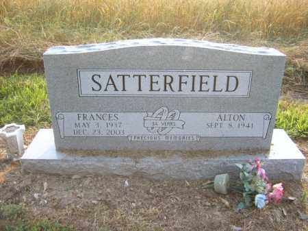 SATTERFIELD, FRANCES - Cross County, Arkansas | FRANCES SATTERFIELD - Arkansas Gravestone Photos