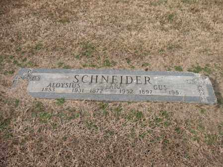 SCHNEIDER, ALOYSIUS - Cross County, Arkansas | ALOYSIUS SCHNEIDER - Arkansas Gravestone Photos