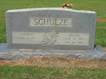 SCHULZE, CHARLES A - Cross County, Arkansas | CHARLES A SCHULZE - Arkansas Gravestone Photos