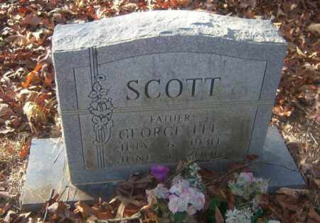 SCOTT, GEORGE LEE - Cross County, Arkansas | GEORGE LEE SCOTT - Arkansas Gravestone Photos