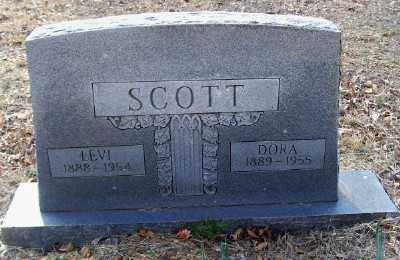 SCOTT, DORA - Cross County, Arkansas | DORA SCOTT - Arkansas Gravestone Photos