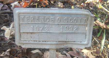 SCOTT, TERANCE O - Cross County, Arkansas | TERANCE O SCOTT - Arkansas Gravestone Photos