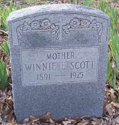SCOTT, WINNIE E. - Cross County, Arkansas | WINNIE E. SCOTT - Arkansas Gravestone Photos
