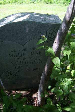"SCRUGGS, WILLIE MAE ""MAMA KID"" - Cross County, Arkansas 