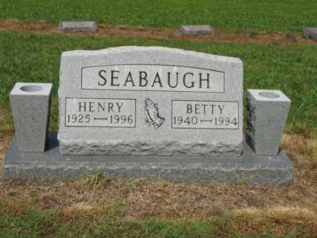 SEABAUGH, BETTY - Cross County, Arkansas | BETTY SEABAUGH - Arkansas Gravestone Photos