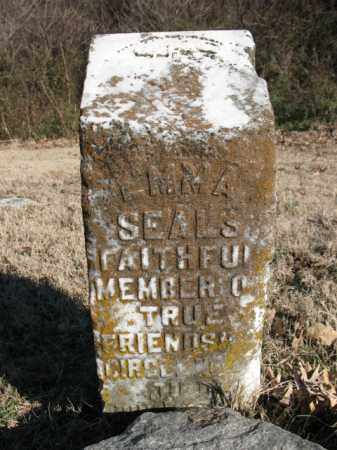 SEALS, EMMA - Cross County, Arkansas | EMMA SEALS - Arkansas Gravestone Photos