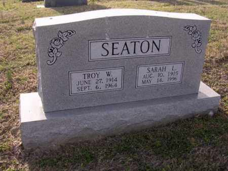 SEATON, TROY W - Cross County, Arkansas | TROY W SEATON - Arkansas Gravestone Photos