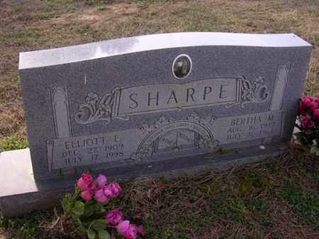 SHARPE, BERTHA M - Cross County, Arkansas | BERTHA M SHARPE - Arkansas Gravestone Photos