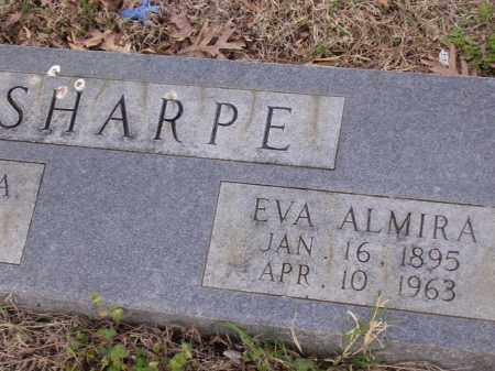 SHARPE, EVA ALMIRA - Cross County, Arkansas | EVA ALMIRA SHARPE - Arkansas Gravestone Photos