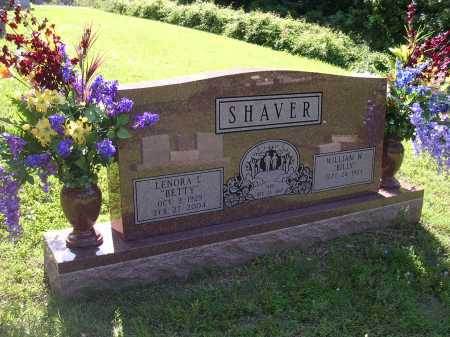 "SHAVER, LENORA L ""BETTY"" - Cross County, Arkansas 