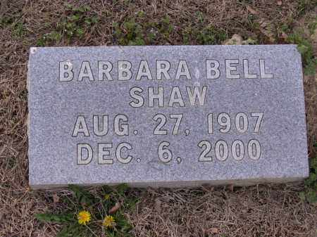 SHAW, BARBARA - Cross County, Arkansas | BARBARA SHAW - Arkansas Gravestone Photos