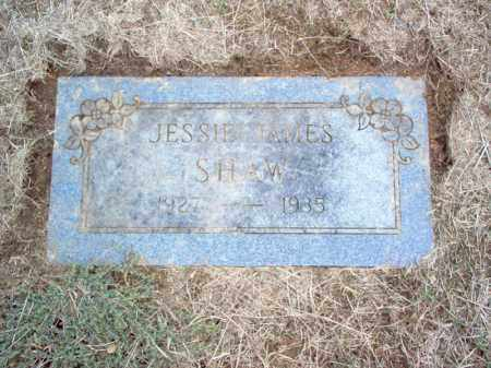 SHAW, JESSIE JAMES - Cross County, Arkansas | JESSIE JAMES SHAW - Arkansas Gravestone Photos